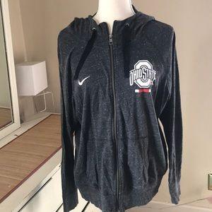 Ohio State Nike zip up hoodie